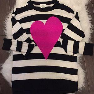 Kate Spade heart sweater